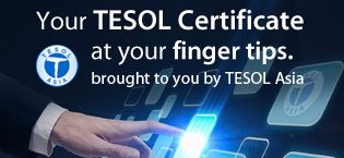 TESOL Asia's 120 Hour Certification Training Online Course
