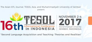 16th TESOL International Conference